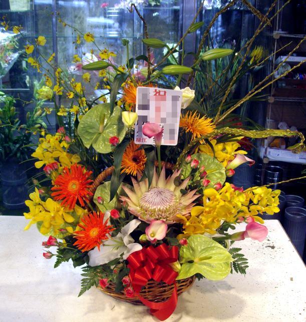 フラワーアレンジメントArr10-10 ¥21,000.-