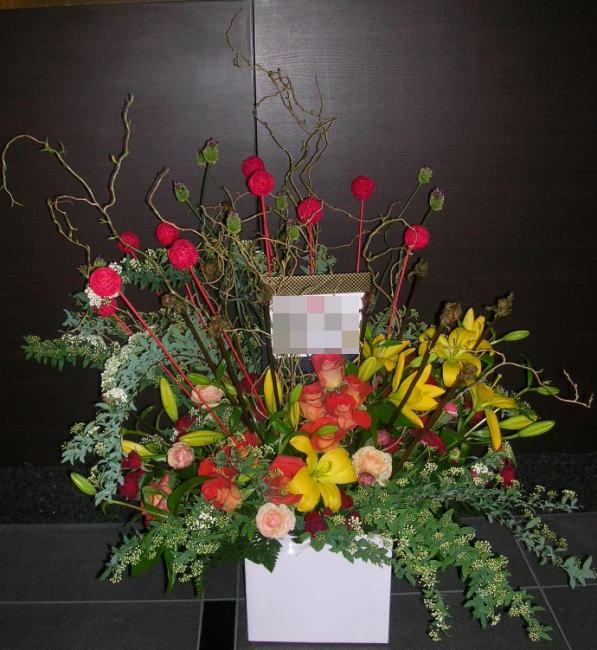 フラワーアレンジメントArr04-8 ¥15,000.-
