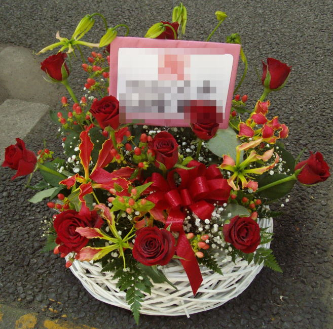 フラワーアレンジメントArr07-6 ¥10,000.-