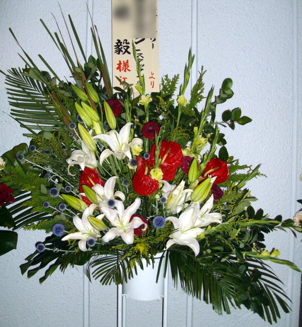 st7-1 スタンド花 ¥15,000.-