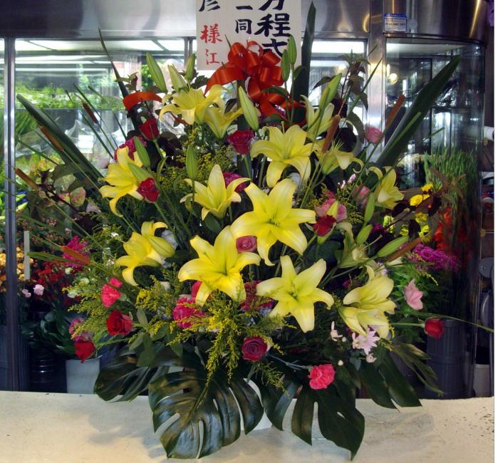 st7-6 スタンド花 ¥20,000.-